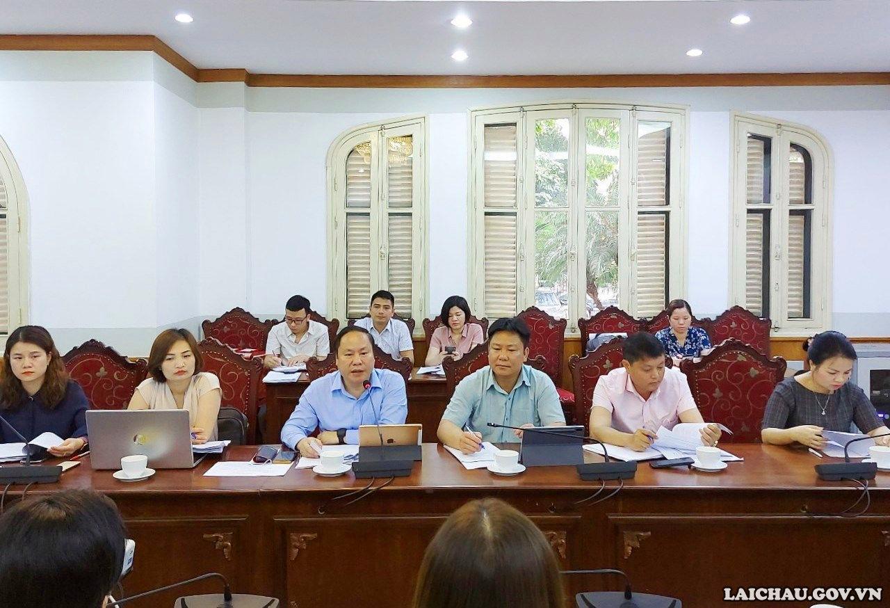 Thứ trưởng Bộ Văn hóa, Thể thao và Du lịch làm việc với Đoàn công tác của UBND tỉnh Lai Châu