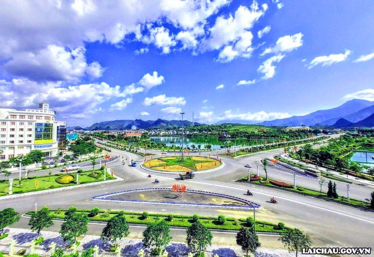 Thành phố Lai Châu trước ngày hội lớn